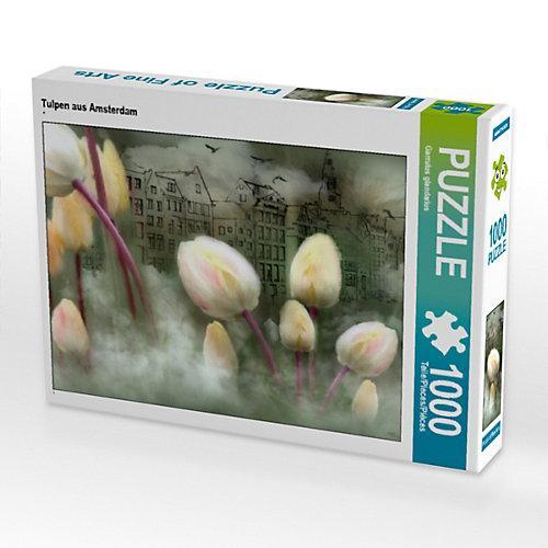 Tulpen aus Amsterdam Foto-Puzzle Bild von Garrulus glandarius Puzzle