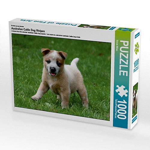 Australian Cattle Dog Welpen Foto-Puzzle Bild von Susan Milau Puzzle