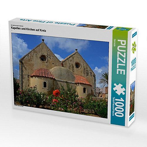 Kapellen und Kirchen auf Kreta Foto-Puzzle Bild von Sarnade Puzzle