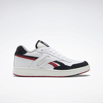 Reebok Unisex BB 4000 Basketball Shoes in Ftwr White/Black/Flash Red Size M 9.5 / W 11 - Basketball Shoes
