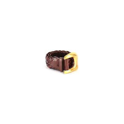 Leather Belt: Brown Solid Access...