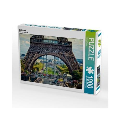 Eiffelturm Foto-Puzzle Bild von HP-Grafik Puzzle