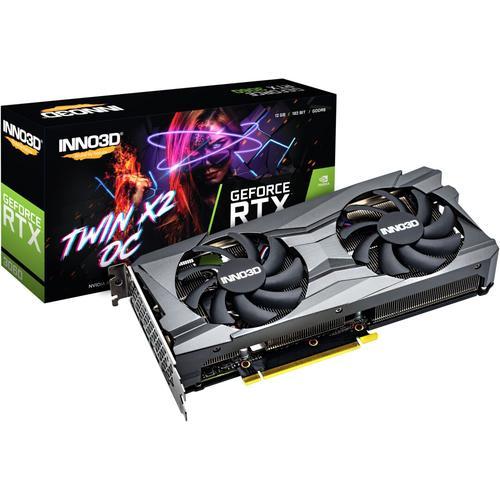 Inno3D GEFORCE RTX 3060 TWIN X2 OC NVIDIA GDDR6 (12.29GB), Grafikkarte