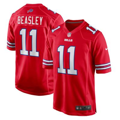 Men's Buffalo Bills Cole Beasley Nike Red Game Jersey