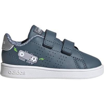 adidas Advantage Schuh, Größe 27 in Grau