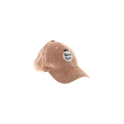 Assorted Brands Baseball Cap: Brown Solid Accessories