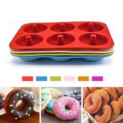 Moule à Donuts en Silicone, pour pâtisserie, pâtisserie, pâtisserie, pâtisserie, pâtisserie, en