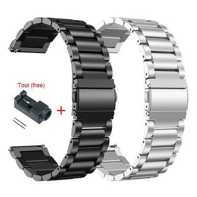 Bracelet en métal pour montre Hu...
