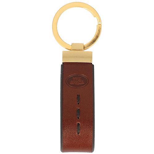 Duccio Schlüsselanhänger Leder 10 cm Schlüsselanhänger braun