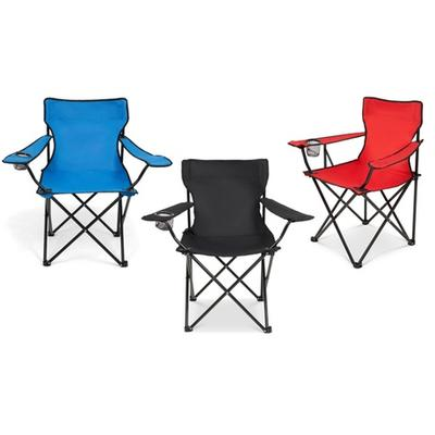 Portable Camping Chair: Red