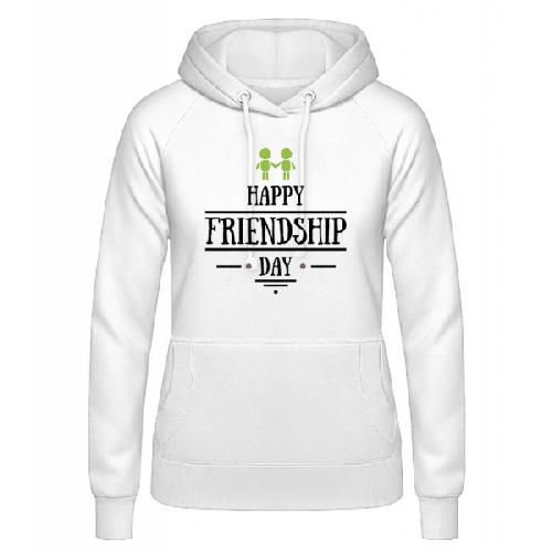 Happy Friendship Day - Frauen Hoodie
