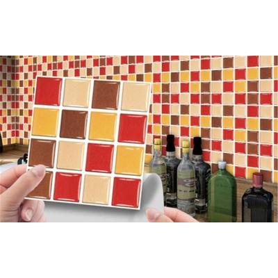 Kitchen PVC Tile Stickers: 10/MS...