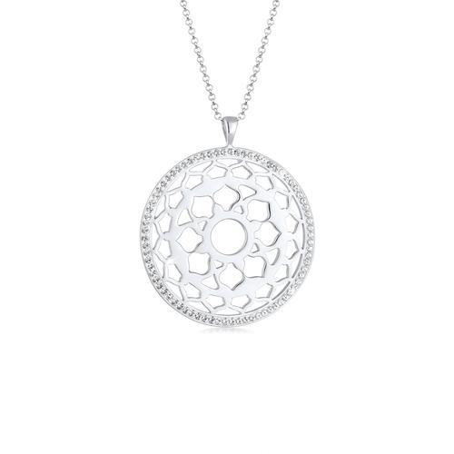 Halskette Sahasrara Chakra Kristalle 925 Silber Nenalina Silber