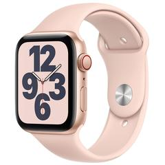 Apple Watch SE 44mm GPS + Cellular (Gold Aluminum Case with Pink Sand Sport Band)