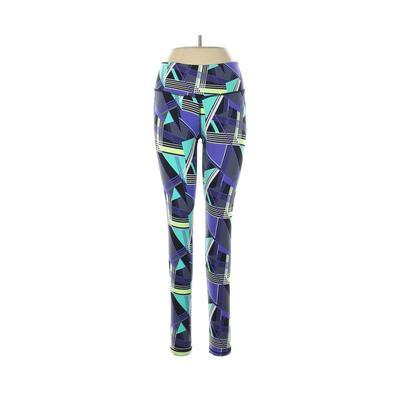 Victoria Sport Active Pants - Mid/Reg Rise: Purple Activewear - Size Medium