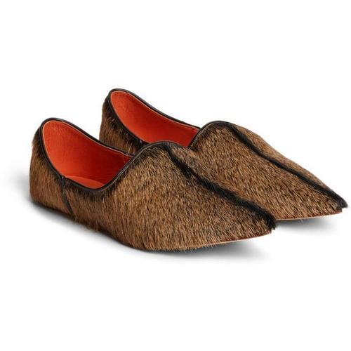Roberto Cavalli 'Babus' Schuhe aus Ziegenhaar