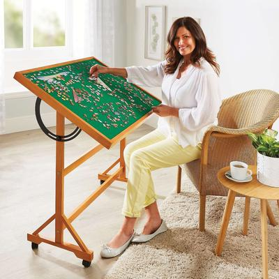 Jigsaw Puzzle Table by Coopers o...