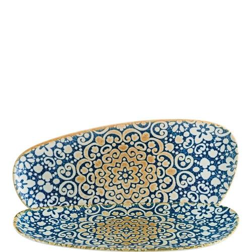 6x Servierplatte Set Geschirr Servierteller Teller Platte oval 36cm Bonna Alhambra Vago