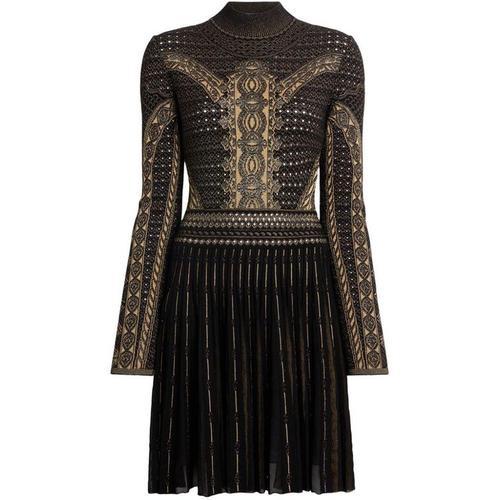 Roberto Cavalli 'Henna' Kleid mit Jacquardmuster