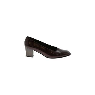 Salvatore Ferragamo Heels: Brown...
