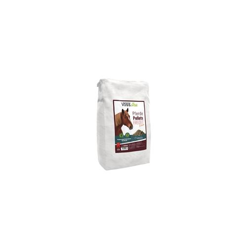 VOSS.vital Pferdepellets Freizeit 5mm - Pferdefutter, 15kg