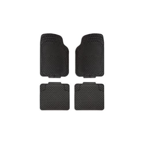 4er-Set rutschfeste Fußmatten fürs Auto