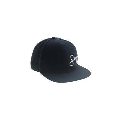 Sean John Baseball Cap: Black Ac...