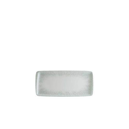 6x Servierplatte Geschirr Servierteller Teller Platte rechteckig 34x16cm Bonna Iris Moove Platte (VE:6)