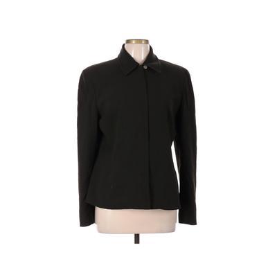 A LINE ANNE KLEIN Jacket: Green Solid Jackets & Outerwear - Size 12