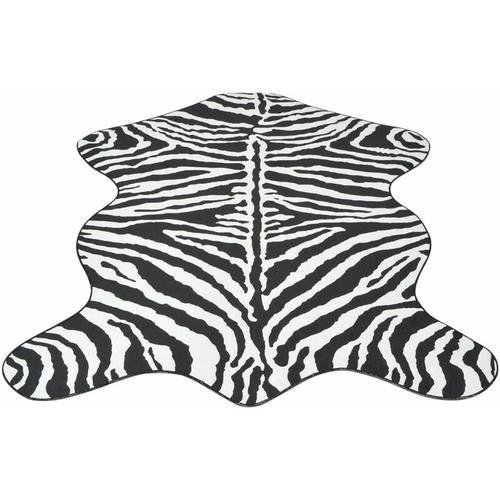 YOUTHUP Teppich Fellimitat Zebra 110 x 150 cm