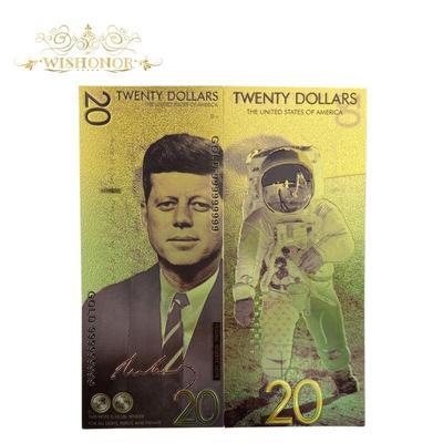 Billets de banque à 20 dollars, ...