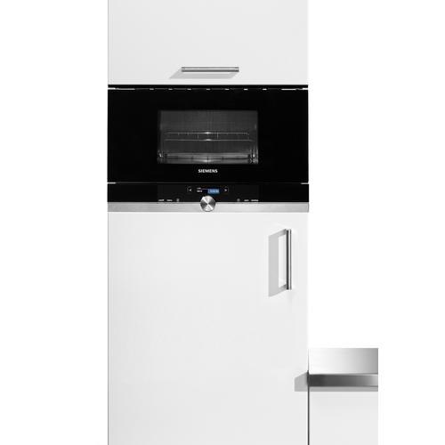 SIEMENS Einbau-Mikrowelle BE634LGS1, Mikrowelle-Grill, 900 W silberfarben Mikrowelle SOFORT LIEFERBARE Haushaltsgeräte