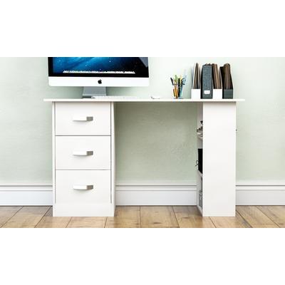 Mason Computer Desk: Pine