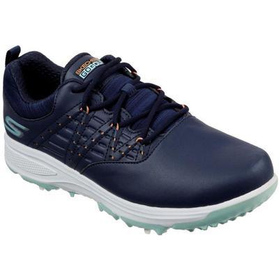 Go Golf Pro V2 Womens Golf Shoes - Blue - Skechers Sneakers