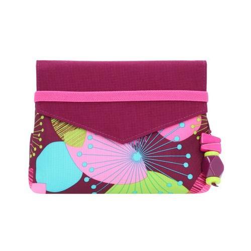 Beauty Wallet Kosmetiktasche 17 cm Kosmetiktaschen pink