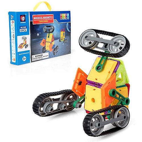 Magnetspielzeug Magnetische Bausteine Set bunt