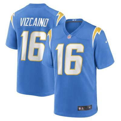 Men's Los Angeles Chargers Tristan Vizcaino Nike Powder Blue Game Jersey