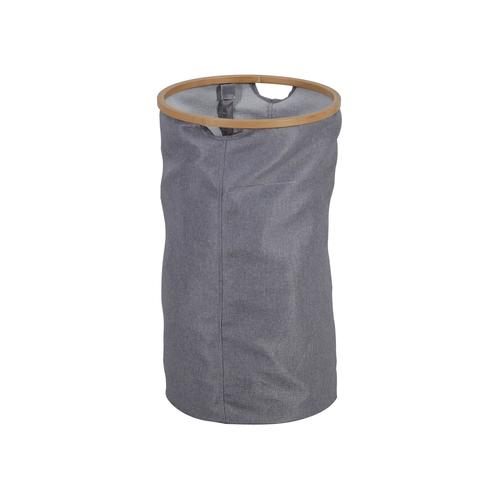 axentia Wäschekorb, Bambus (rund)