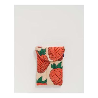 Baggu - Puffy Tablet Sleeve 8 Strawberry