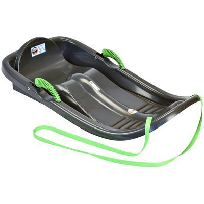 KHW Rodel Snow Bird de luxe, BxLxH: 54x96x20 cm schwarz Kinder Schlitten Wintersportausrüstung Sportausrüstung Accessoires
