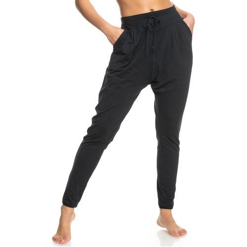 Roxy Yogahose Love Aint Enough schwarz Damen Yogahosen Yogawear Damenwäsche