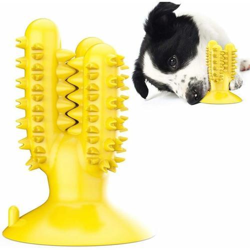 Hundespielzeug-Zahnbürstenstab Hundezahnbürste Mit Saugnapf ? Hundezahnbürste, Hundemolarstift A