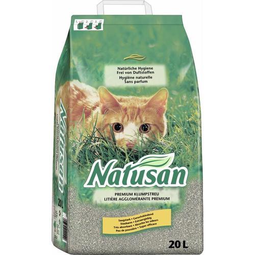 Natusan Katzenstreu 20 L