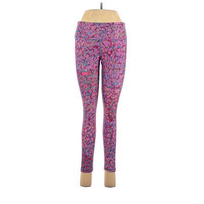 Noli Yoga Yoga Pants - High Rise: Purple Activewear - Size Medium