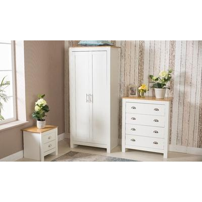 Country-Style Bedroom Furniture: Three-Piece New Bedroom Set/Grey
