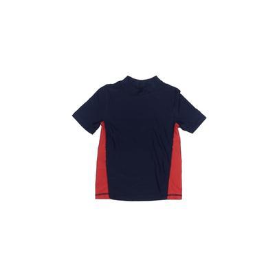 Circo Rash Guard: Blue Solid Sporting & Activewear - Size 5Toddler
