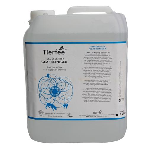 Tierfee Ökologischer Glasreiniger - 5 Liter