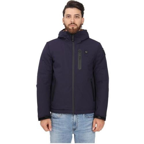 Blauer Coat