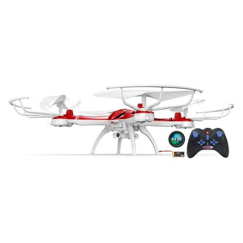 Jamara Ferngesteuerte Drohne Merlo HD Kompass Flyback Turbo 2,4 GHz