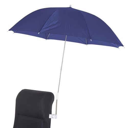 Bo-Camp Universal Stuhl-Sonnenschirm 106 cm Blau